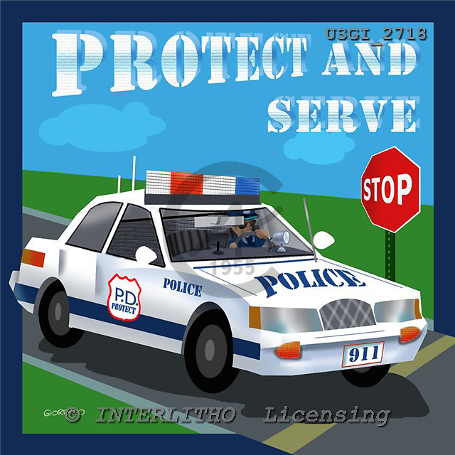 GIORDANO, TEENAGERS, JUGENDLICHE, JÓVENES, paintings+++++,USGI2718,#J# protect and serve ,everyday