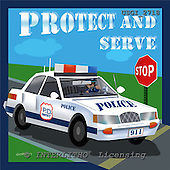 GIORDANO, TEENAGERS, JUGENDLICHE, JÓVENES, paintings+++++,USGI2718,#J# protect and serve ,everyday