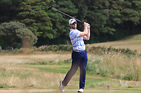 Peter O'Keeffe (Douglas) on the 12th tee during Round 2 - Strokeplay of the North of Ireland Championship at Royal Portrush Golf Club, Portrush, Co. Antrim on Tuesday 10th July 2018.<br /> Picture:  Thos Caffrey / Golffile