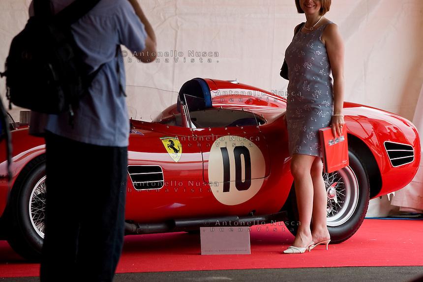 """Collezionisti e appassionati della Ferrari si sono ritrovati a Maranello per partecipare alla seconda edizione del """"Ferrari leggenda e Passione"""" in cui si sono battuti all'asta alcuni dei modelli più esclusivi della casa Italiana.Car enthusiasts and Ferrari collectors from across the globe descended on Maranello, Italy for three days to partecipate at the RM Auctions' second annual ?Ferrari Leggenda e Passione? auction event."""