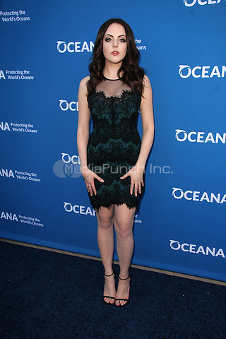 BEVERLY HILLS, CA - SEPTEMBER 28: Elizabeth Gillies at the Concert for Our Oceans hosted by Seth MacFarlane benefitting Oceana at the Wallis Annenberg Center for the Performing Arts on September 28, 2015. Credit: David Edwards/MediaPunch