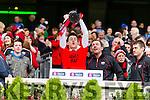 Kieran CourtneyGlenbeigh Glencar players celebrate their victory over Rock Saint Patricks in the Junior Football All Ireland Final in Croke Park on Sunday.