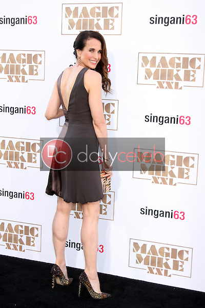 """Andie MacDowell <br /> at the """"Magic Mike XXL"""" Premiere, TCL Chinese Theater, Hollywood, CA 06-25-15<br /> David Edwards/DailyCeleb.com 818-249-4998"""
