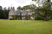 The garden front of Lisnavagh House