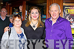 Country music super star Trudi Lulor met Maurice and Carmel Leahy Causeway at the Country Music festival in the Gleneagle Hotel on Saturday night