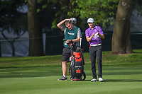 HaoTong Li (CHN) looks over his approach shot on 6 during round 2 of the World Golf Championships, Mexico, Club De Golf Chapultepec, Mexico City, Mexico. 2/22/2019.<br /> Picture: Golffile | Ken Murray<br /> <br /> <br /> All photo usage must carry mandatory copyright credit (© Golffile | Ken Murray)