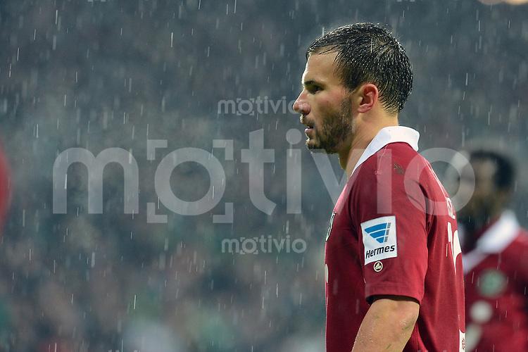 FUSSBALL   1. BUNDESLIGA   SAISON 2012/2013    20. SPIELTAG SV Werder Bremen - Hannover 96                           01.02.2013 Szabolcs Huszti (Hannover 96) ist enttaeuscht