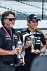 Michael ANDRETTI (USA), Directeur Andretti Autosport #98, Takuma SATO (JPN), HONDA RAHAL LETTERMAN LANIGAN Racing #30, INDIANAPOLIS 500 2018