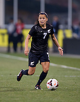 Ali Riley. The USWNT tied New Zealand, 1-1, at an international friendly at Crew Stadium in Columbus, OH.