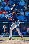 2 March 2019: Minnesota Twins top prospect outfielder Aaron Whitefield in action during a Spring Training game against the Washington Nationals at the Ballpark of the Palm Beaches in West Palm Beach, Florida. The Twins fell to the Nationals 10-6 in Grapefruit League play. Mandatory Credit: Ed Wolfstein Photo *** RAW (NEF) Image File Available ***