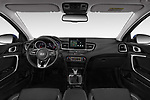 Stock photo of straight dashboard view of 2019 KIA Ceed-SW More 5 Door Wagon Dashboard