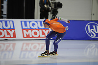 SPEEDSKATING: SALT LAKE CITY: 07-12-2017, Utah Olympic Oval, training ISU World Cup, Simon Schouten (NED), ©photo Martin de Jong