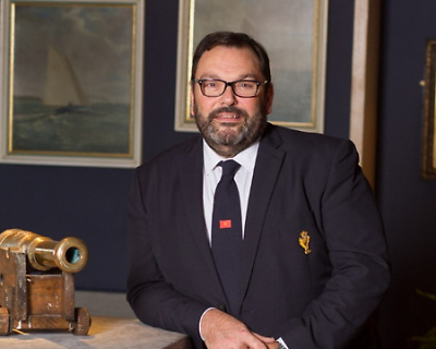 Colin Morehead, Admiral of the Royal Cork Yacht Club