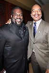Phillip Boykin & David Alan Grier.Behind the Scenes at the 2012 Tony Award-Meet The Nominees Press Reception at Millennium Broadway Hotel on May 2, 2012 in New York City. © Walter McBride/WM Photography .