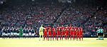 Scotland and England observe a minutes silence