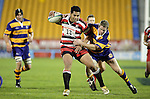 Niva Ta'auso and Hayden Reid. Counties Manukau Steelers vs Bay of Plenty Steamers warm up game played at Mt Smart Stadium on 14th of July 2006. Counties Manukau won 25 - 20.