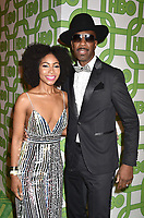 BEVERLY HILLS, CA - JANUARY 06: Shahidah Omar (L) and J.B. Smoove attend HBO's Official Golden Globe Awards After Party at Circa 55 Restaurant at the Beverly Hilton Hotel on January 6, 2019 in Beverly Hills, California.<br /> CAP/ROT/TM<br /> &copy;TM/ROT/Capital Pictures