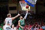 S&ouml;dert&auml;lje 2015-04-19 Basket SM-Final 1 S&ouml;dert&auml;lje Kings - Uppsala Basket :  <br /> S&ouml;dert&auml;lje Kings John Roberson g&ouml;r po&auml;ng under matchen mellan S&ouml;dert&auml;lje Kings och Uppsala Basket <br /> (Foto: Kenta J&ouml;nsson) Nyckelord:  S&ouml;dert&auml;lje Kings SBBK T&auml;ljehallen Basketligan SM SM-Final Final Uppsala Basket jubel gl&auml;dje lycka glad happy