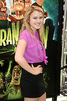 "LOS ANGELES - AUG 5:  Taylor Spreitler arrives at the ""ParaNorman"" Premiere at Universal CityWalk on August 5, 2012 in Universal City, CA © mpi27/MediaPunch Inc"