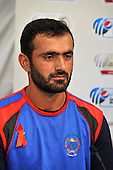 Afghanistan Captain Nawroz Mangol, after completing their preparations for the Intercontinental Cup final match, starting tomorrow (2.12.10) at Dubai Sports City Stadium - picture by Donald MacLeod 01.12.10 - mobile 07702 319 738 - clanmacleod@btinternet.com - www.donald-macleod.com