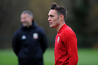 Connor Roberts of Wales during the Wales Training Session at The Vale Resort, Hensol, Wales, UK. Monday 19 November 2018