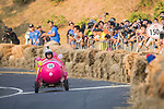 Team 卡到陰  in action during the Red Bull Soapbox Race 2017 Taipei at Multipurpose Gymnasium National Taiwan Sport University on 01 October 2017, in Taipei, Taiwan. Photo by Victor Fraile / Power Sport Images