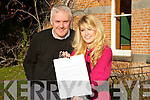 ..Emma O'Shea, who with her letter from the Minister of Education on Saturday with the Principle of Brookfield College Eilishe.........   Copyright Kerry's Eye 2008
