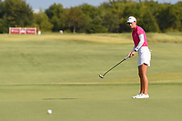 Cheyenne Knight (USA) watches her putt on 18 during round 4 of the Volunteers of America Texas Classic, the Old American Golf Club, The Colony, Texas, USA. 10/6/2019.<br /> Picture: Golffile | Ken Murray<br /> <br /> <br /> All photo usage must carry mandatory copyright credit (© Golffile | Ken Murray)
