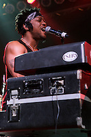 D'Angelo performs after a 12 year hiatus at the 2012 Bonnaroo Music Festival in Manchester, Tennessee. June 10, 2012. Credit: Jen Maler / MediaPunch Inc. NORTEPHOTO.COM<br /> NORTEPHOTO.COM