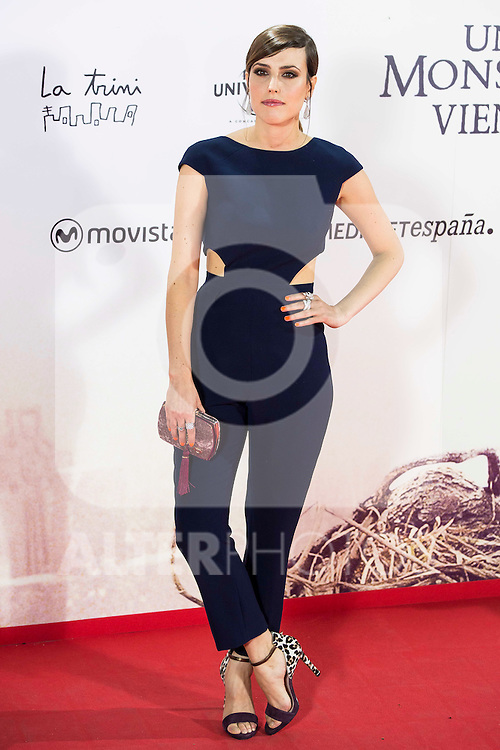 "Natalia de Molina  during the premiere of the spanish film ""Un Monstruo Viene a Verme"" of J.A. Bayona at Teatro Real in Madrid. September 26, 2016. (ALTERPHOTOS/Borja B.Hojas)"