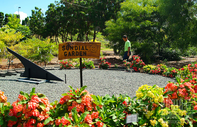 The 30-acre Urban Garden Center contains a variety of displays including an herb garden, a hedge maze, ground cover and turfgrass displays, a hibiscus garden, and an vegetable idea garden.