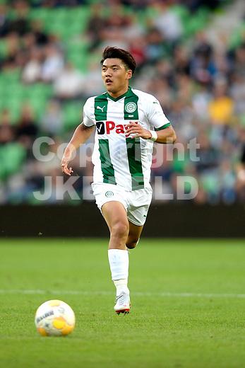 GRONINGEN - Voetbal, FC Groningen - Willem II,  Eredivisie , Hitachi stadion, seizoen 2018-2019, 17-08-2018,   FC Groningen speler Ritsu Doan