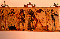 "Bubonic Plague:  Church Fresco, late 15th century (otherwise unidentified).  ""Dance of Death""."