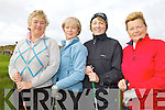TEEING OFF: Taking part in the golf classic for the Towers Centre in Ballybunion on Friday last were l-r: Irma Clifford, Angela Kelliher, Ursula Daly, Anne O'Leary.