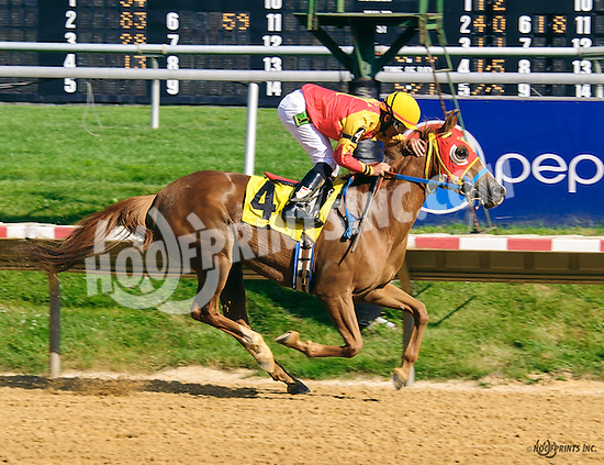 RB Kinkie winning at Delaware Park on 6/20/16