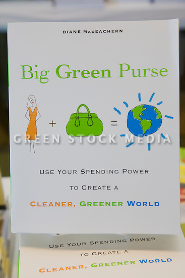 Big Green Purse: Using Your Spending Power to Create a Cleaner, Greener World, by Diane MacEachern, on display in the West Coast Green bookstore. West Coast Green is the nation?s largest conference and expo dedicated to green innovation, building, design and technology. The conference featured over 380 exhibitors, 100 presenters, and 14,000 attendees. Location: San Jose Convention Center in Silicon Valley (San Jose, California, USA), September 25-27, 2008