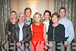 Enjoying their Christmas party last Friday night in the Ballygarry house hotel, Tralee were students from Kerry GP training scheme from Kerry General Hospital and Tralee IT L-R Brid O'Brien, Mark Henderson, Sarah O'Neill, Rosemarie Grant, Bríd Walsh, Eleanor Johnson and Graham Gordan.