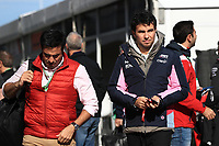 2nd November 2019; Circuit of the Americas, Austin, Texas, United States of America; Formula 1 United Sates Grand Prix, qualifying day; SportPesa Racing Point, Sergio Perez - Editorial Use