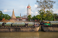 Ayutthaya Kingdom, a Thai kingdom that existed from 1350 to 1767; Ayutthaya Historical Park, the ruins of the old capital city of the Ayutthaya Kingdom, Phra Nakhon Si Ayutthaya, Thailand