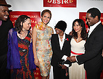 Wood Harris, Emily Mann, Nicole Ari Parker, CicelyTyson, Daphne Rubin-Vega and Blair Underwood.attending the Broadway Opening Night After Party for 'A Streetcar Named Desire' on 4/22/2012 at the Copacabana in New York City.