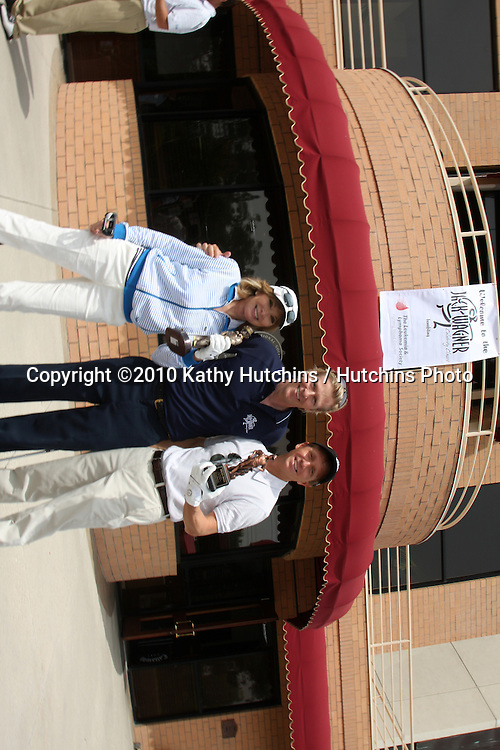 Margie Perenchio , Jack Wagner, & Bradley Bell.at the 4th Annual Jack Wagner Celebrity Golf Classic to benefit The Leukemia & Lymphoma Society Golf Tournament.Valencia Country Club.Valencia , CA.April 27, 2010.©2010 Kathy Hutchins / Hutchins Photo...