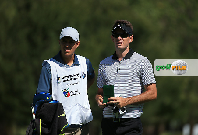 Dylan Fritelli (RSA)  in action during the completion of Round Two of the 2016 BMW SA Open hosted by City of Ekurhuleni, played at the Glendower Golf Club, Gauteng, Johannesburg, South Africa.  09/01/2016. Picture: Golffile | David Lloyd<br /> <br /> All photos usage must carry mandatory copyright credit (&copy; Golffile | David Lloyd)