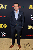 """LOS ANGELES - FEB 29:  Martin Zuniga at the """"Andre The Giant"""" HBO Premiere at the Cinerama Dome on February 29, 2018 in Los Angeles, CA"""