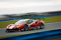 26-29 January, 2017, Daytona Beach, Florida USA<br /> 63, Ferrari, Ferrari 488 GT3, GTD, Alessandro Balzan, Christina Nielsen, Matteo Cressoni, Sam Bird<br /> ©2017, Barry Cantrell<br /> LAT Photo USA
