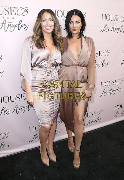 14 June 2016 - West Hollywood, California - Olivia Pierson, Natalie Halcro. House of CB Flagship Store Launch held at The House of CB Store. <br /> CAP/ADM/SAM<br /> &copy;SAM/ADM/Capital Pictures