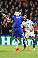Diego Costa of Chelsea holds up the ball during the UEFA Champions League group match between Chelsea and FC Porto at Stamford Bridge, London, England on 9 December 2015. Photo by David Horn / PRiME