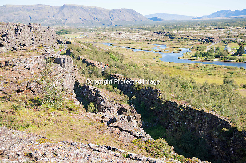 Continental Plates Iceland