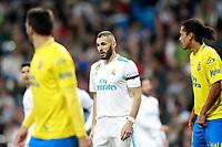 Real Madrid's Karim Benzema during La Liga match. November 5,2017. (ALTERPHOTOS/Acero)
