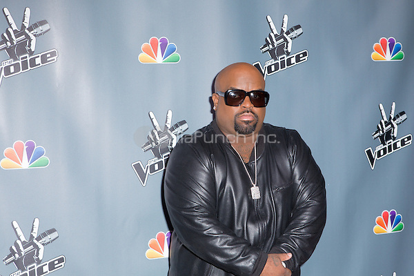 "UNIVERSAL CITY, CA - NOVEMBER 07: Recording Artist Cee Lo Green at NBC's ""The Voice"" Season 5 Top 12 in Universal City Plaza, on November 7th, 2013 in Universal City, California Photo Credt: RTNRossi / MediaPunch Inc."