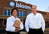 New Bloom Store Manager Georgia Habit (left) and Bloom District Manager Wayne TerVeen.